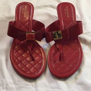 Red Cole Haan Sandals 8B